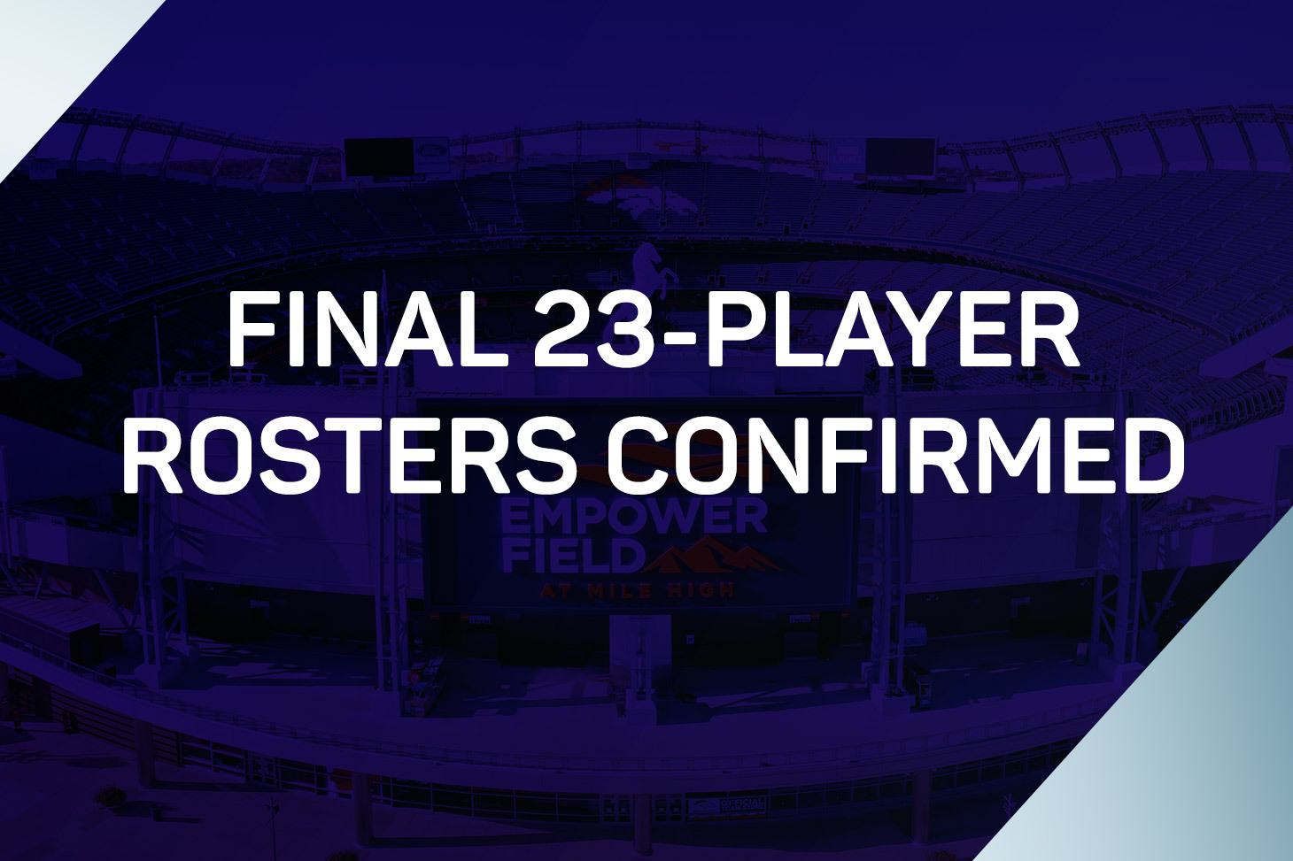 Final 23-player rosters confirmed for 2021 Concacaf Nations League Finals