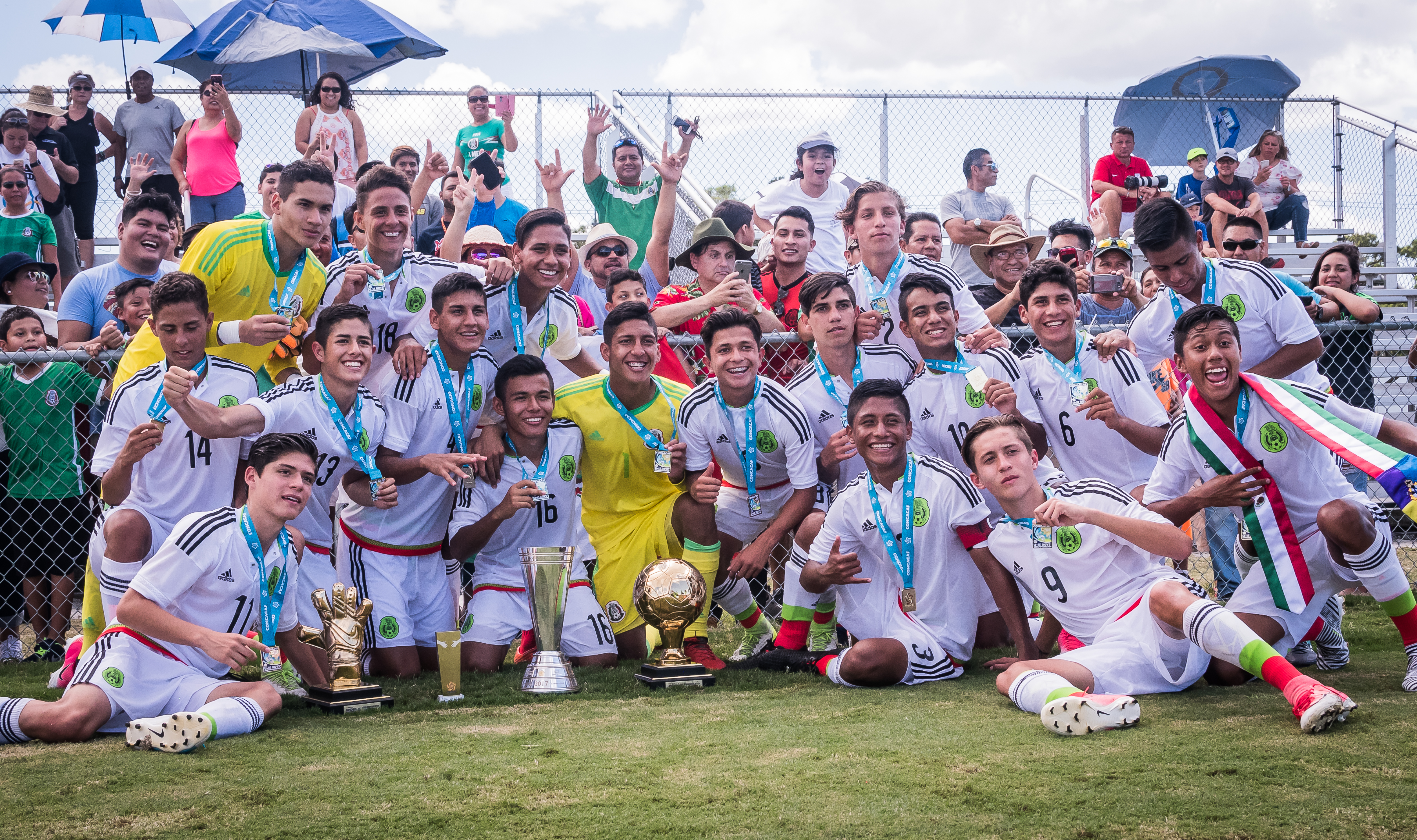 Mexico, USA highlight Concacaf Boys' Under-15 Championship Division 1