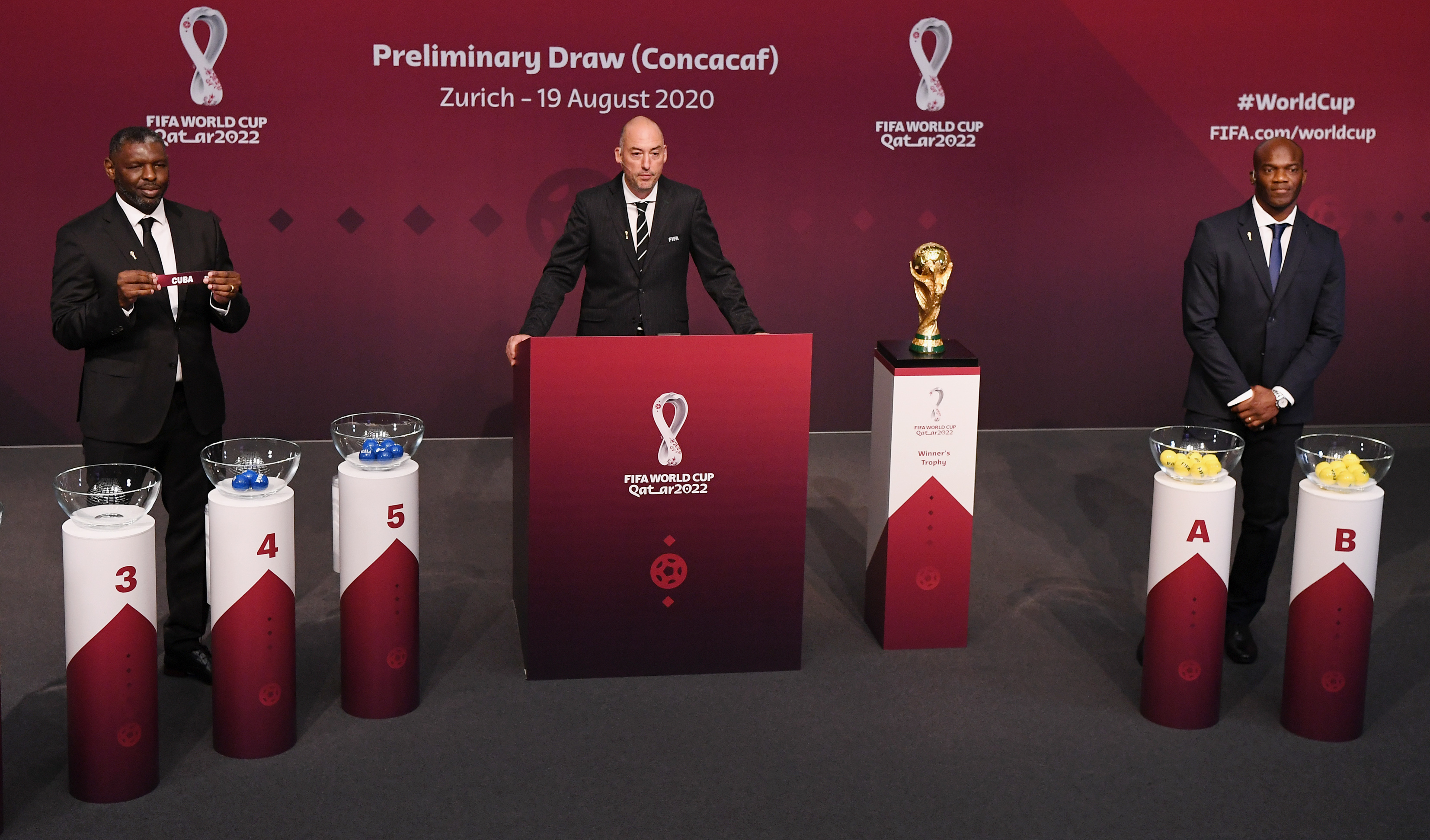 Draw for First Round of Concacaf WCQ reveals exciting match-ups