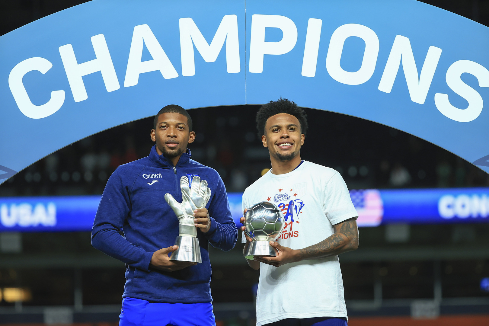 McKennie, Lopez and Vlijter take home CNL honors