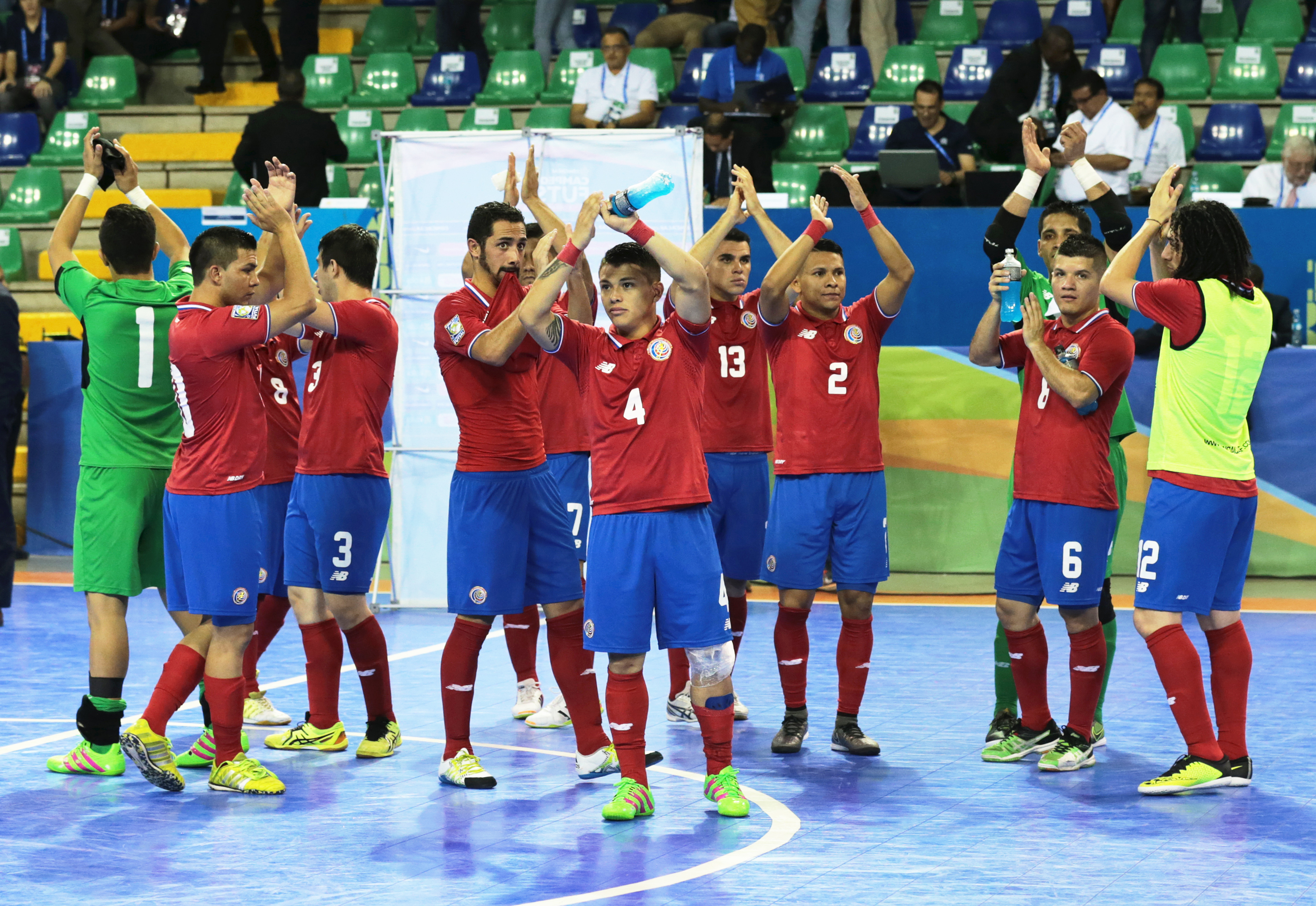 Costa Rica begin quest for fourth CFC in Group C
