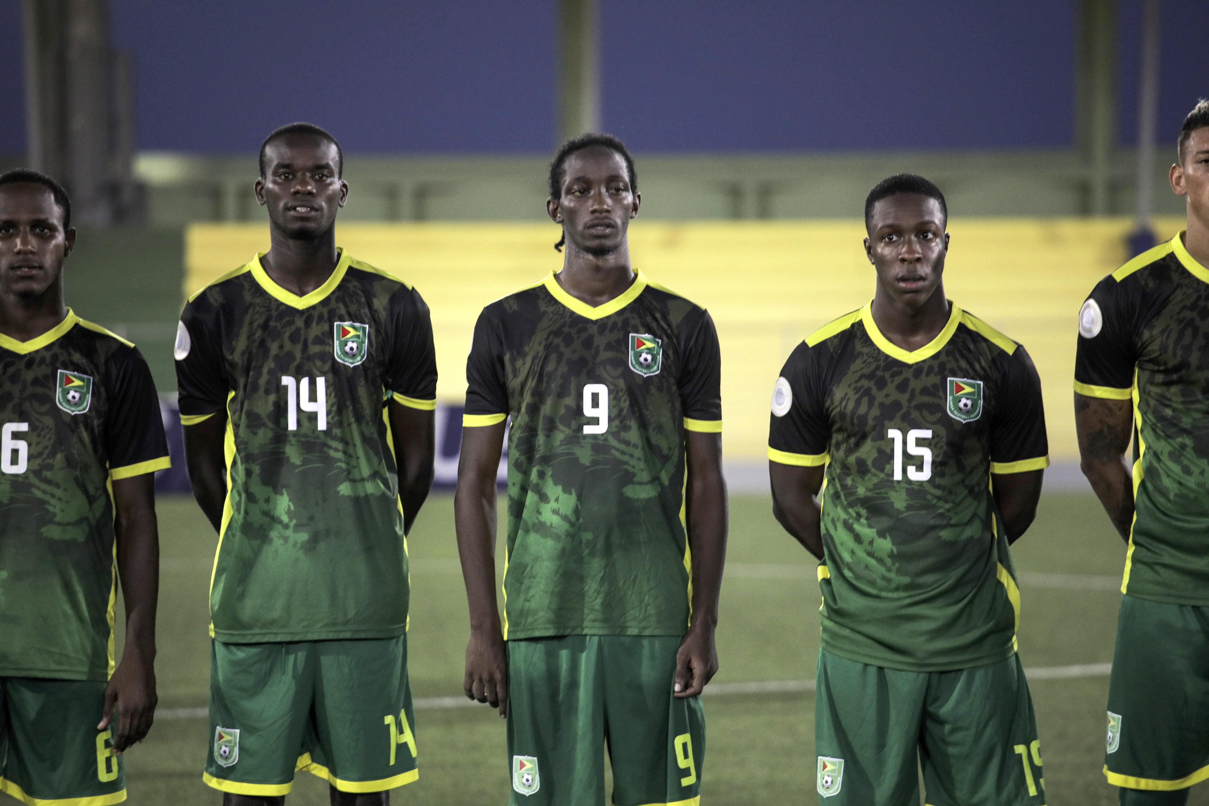 Guyana and Jamaica face off for top spot in Group C of League B