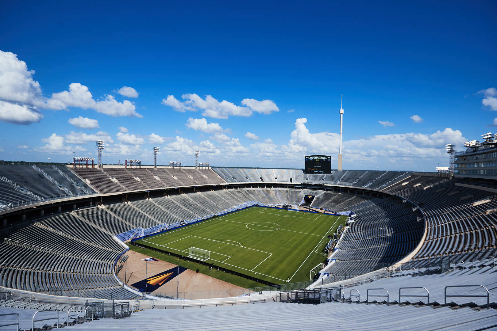 Capacity crowd expected for Mexico vs El Salvador Gold Cup Match at Cotton Bowl Today, July 18