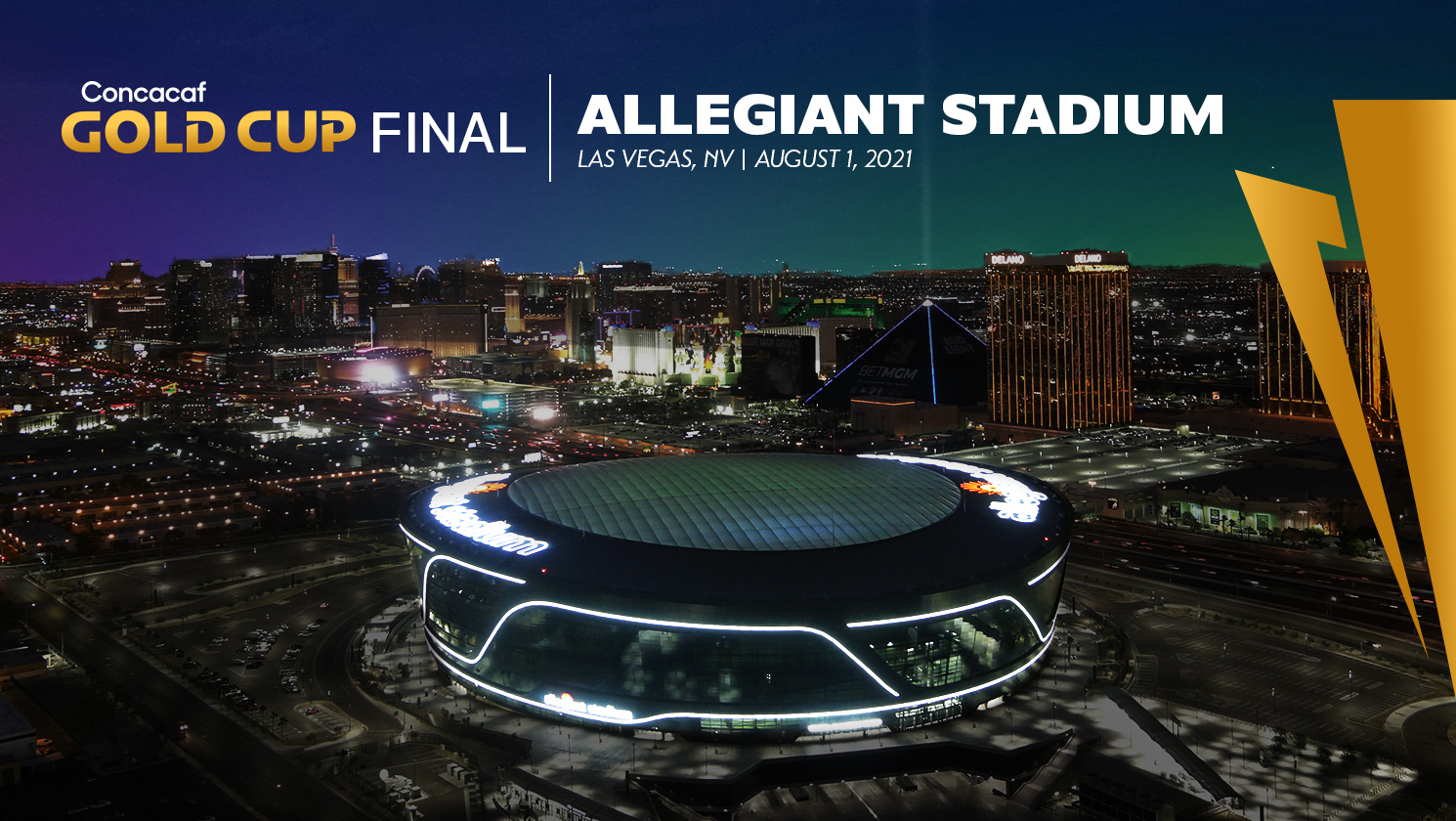 Las Vegas Awarded 2021 Concacaf Gold Cup Final