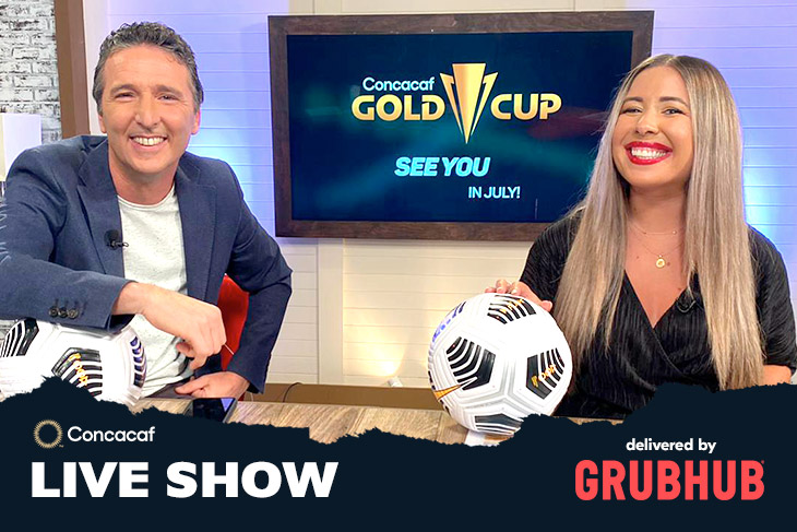 Concacaf Live Show delivered by Grubhub
