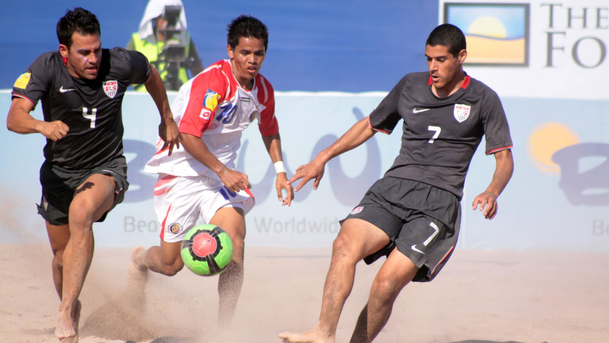 USA, Costa Rica, Trinidad & Togabo and Turks & Caicos feature in Group C of the 2021 Concacaf Beach Soccer Championship in Alajuela, Costa Rica.