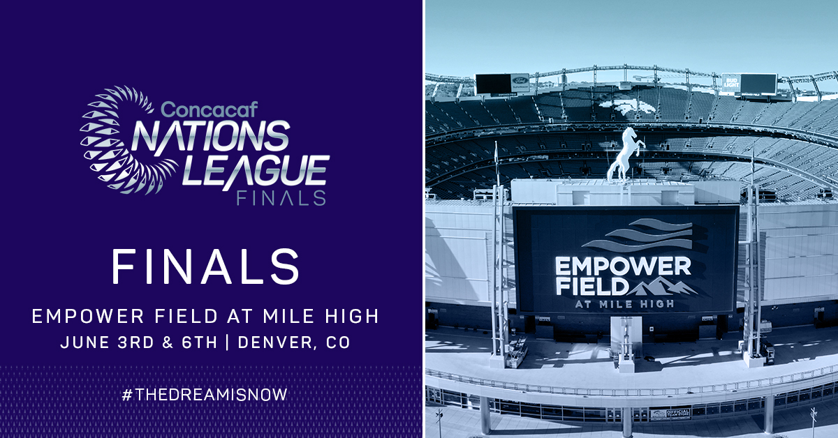 Denver to host first-ever Concacaf Nations League Finals in June 2021