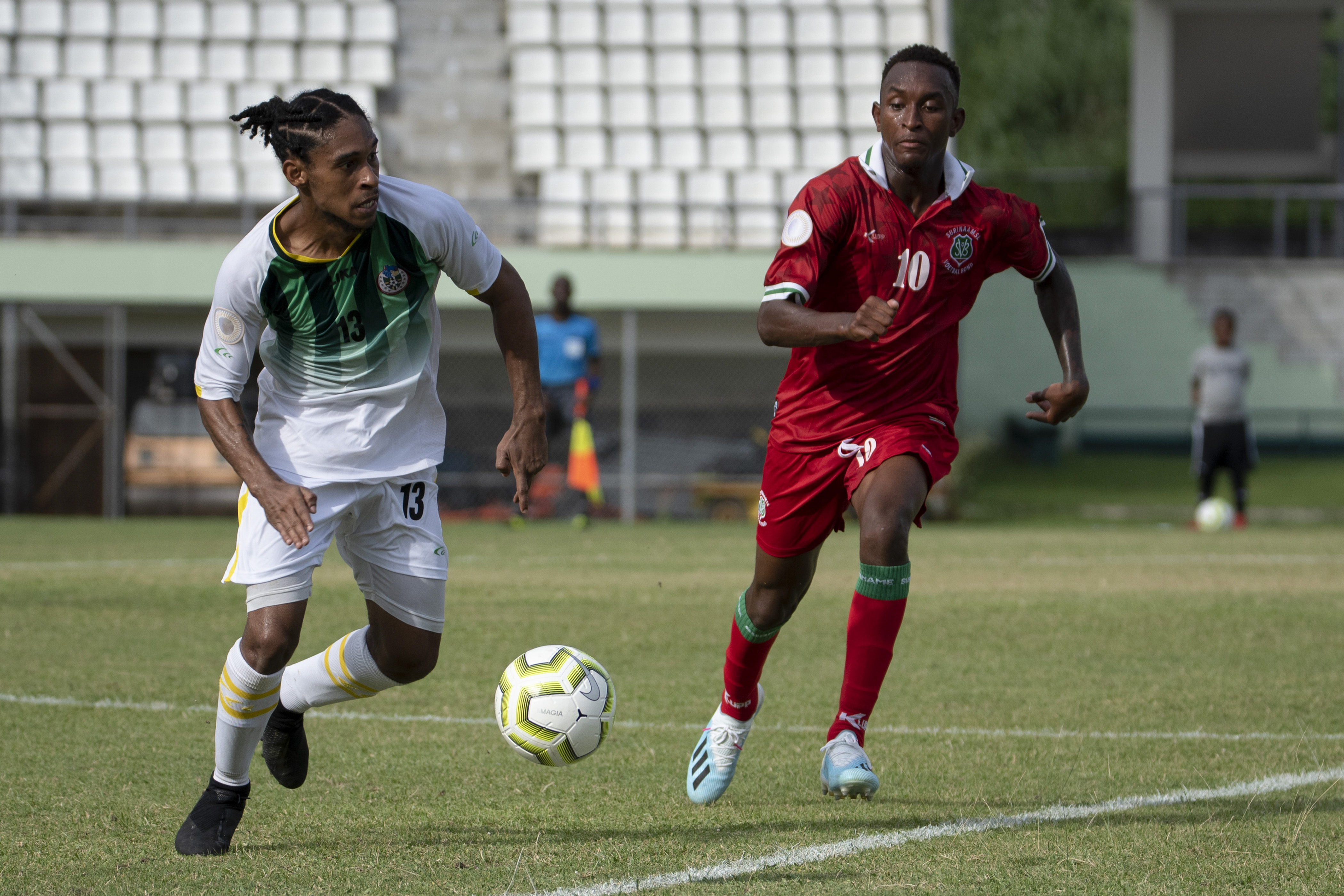 Suriname look to reclaim top spot in group against Dominica